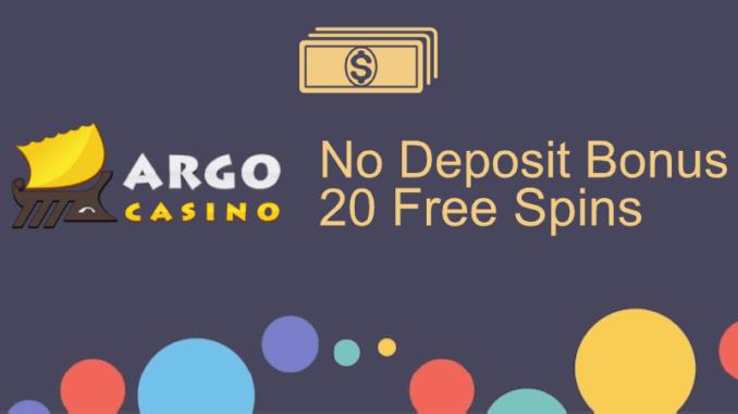 Argo Casino No Deposit Bonus