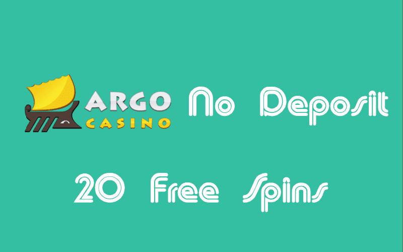 Argo Casino No Deposit Free Spins