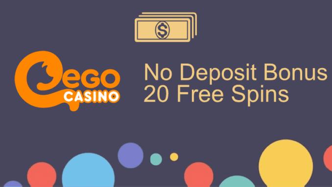 Ego Casino No Deposit Bonus