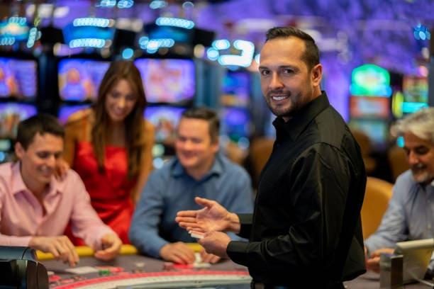 Casino pit boss