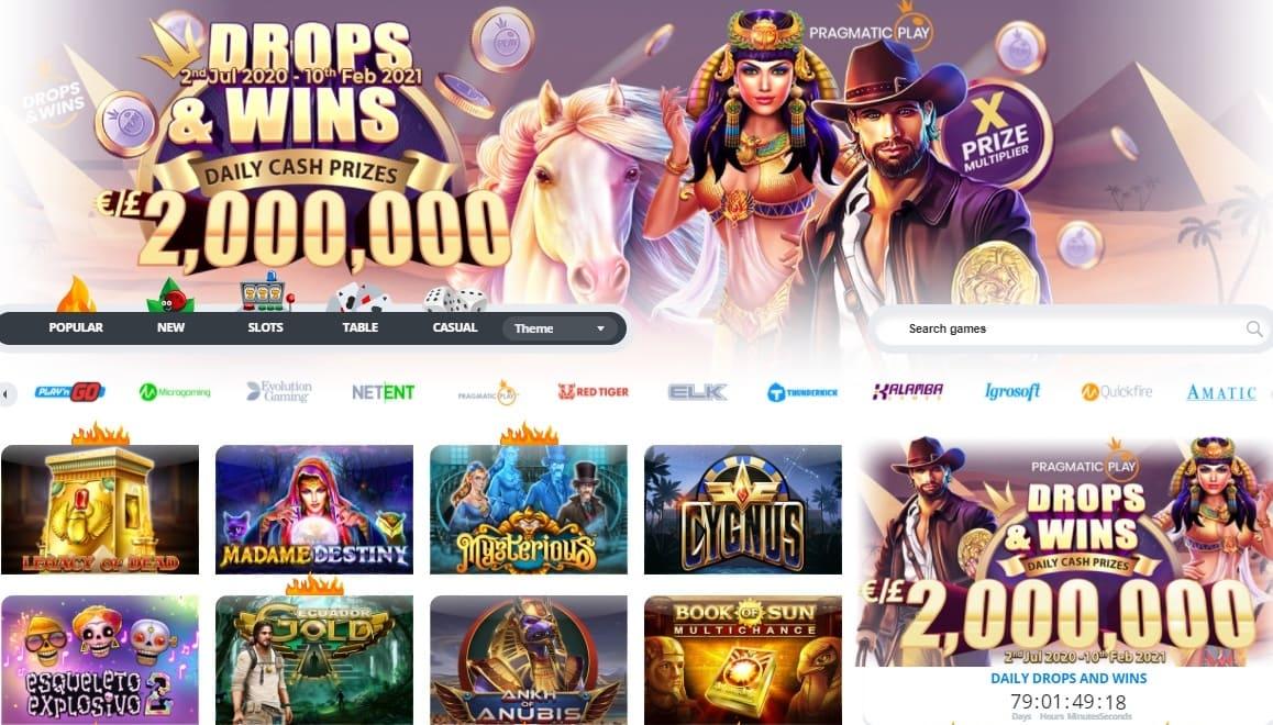 Ego Casino Website