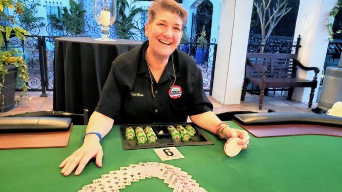 Poker round escalates - dealer strikes