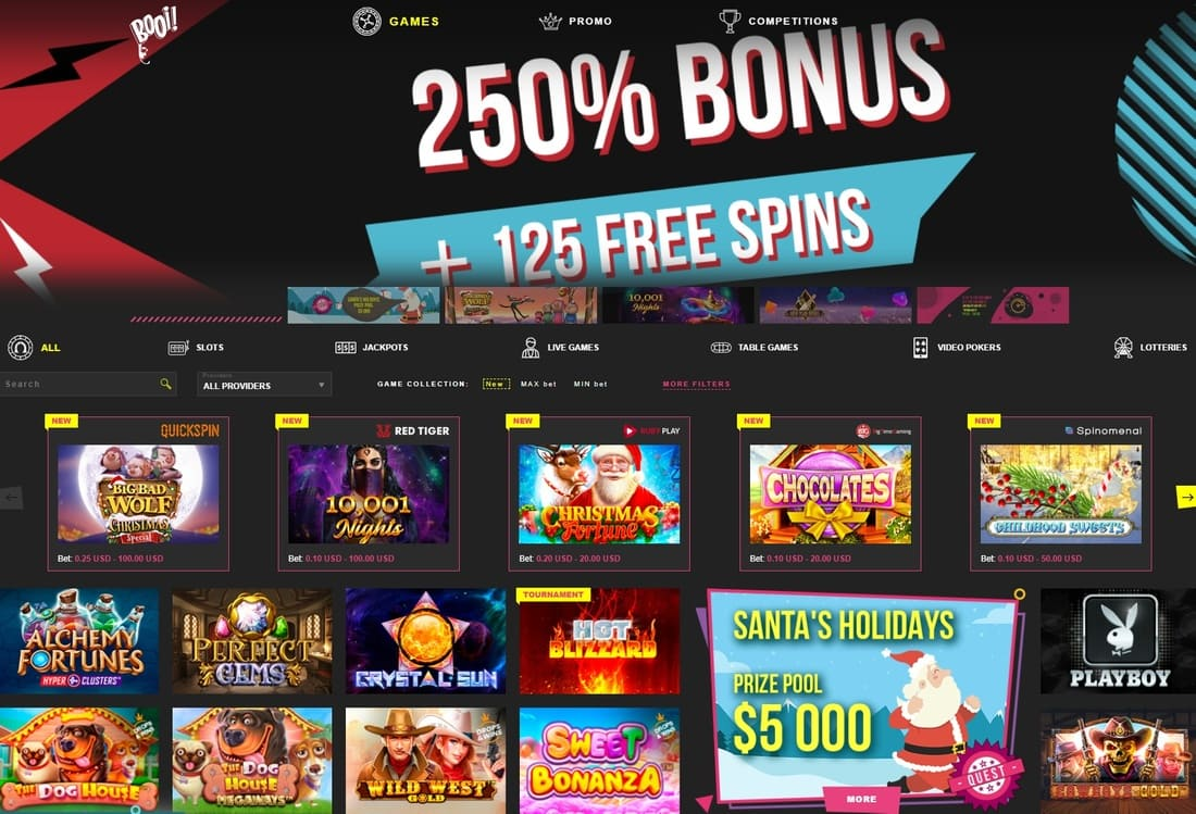 Booi Casino Review