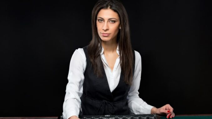 gambling sector are female