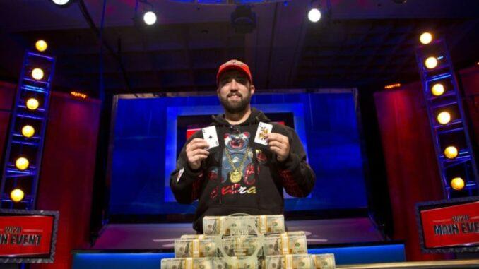 Joseph Hebert wins the WSOP Main Event