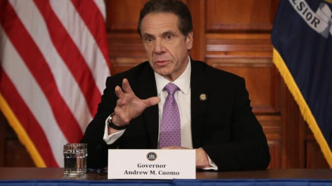 New York Governor Andrew Cuomo now allows mobile sports betting