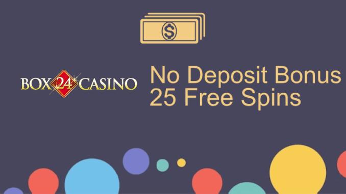 Box24 Casino no Deposit Bonus