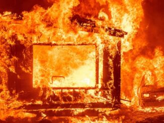 Fire in amusement arcade