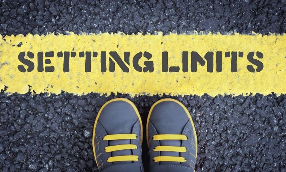 set limits in online casinos