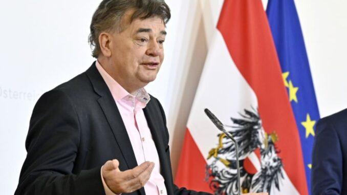 Austrian Vice Chancellor Werner Kogler