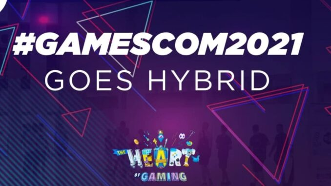 Gamescom 2021 is to take place as a hybrid