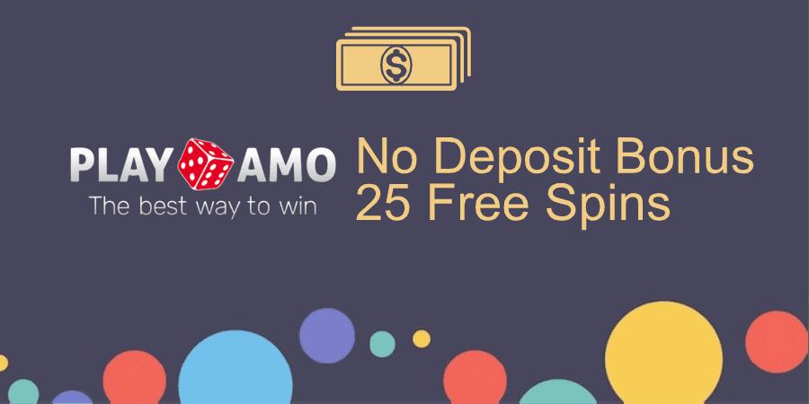 PlayAmo Casino no deposit bonus