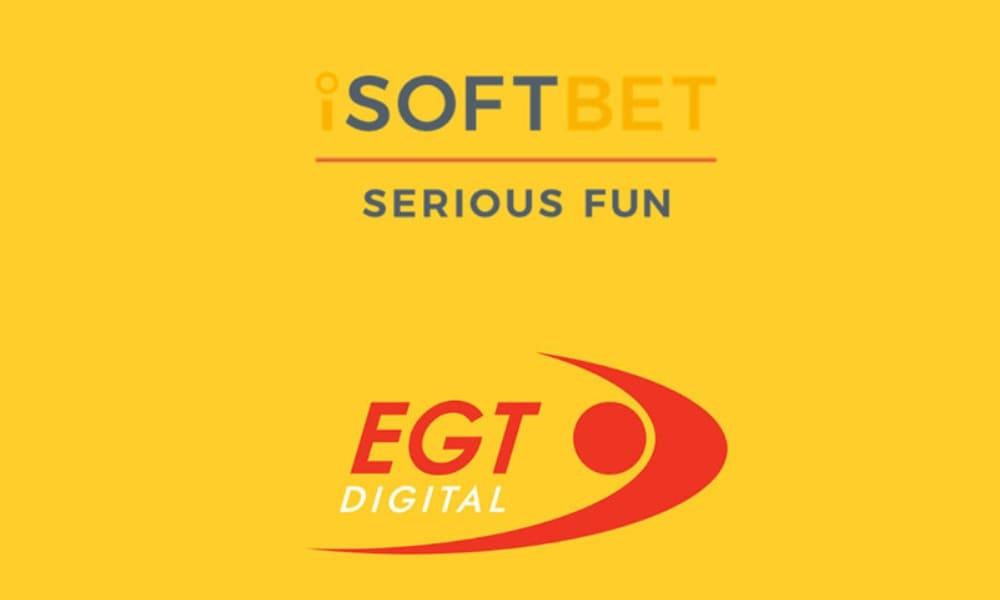 iSoftBet signs partnership with EGT Digital