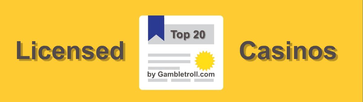 Licensed online casinos