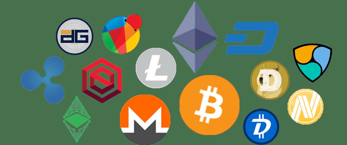 List of Cryptocurrencies in online Casinos