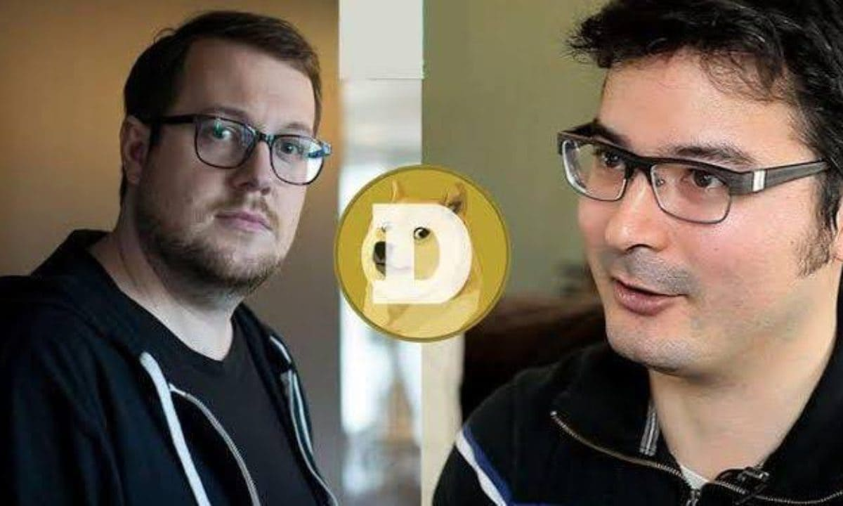 Jackson Palmer and Billy Markus (DOGE Founders)