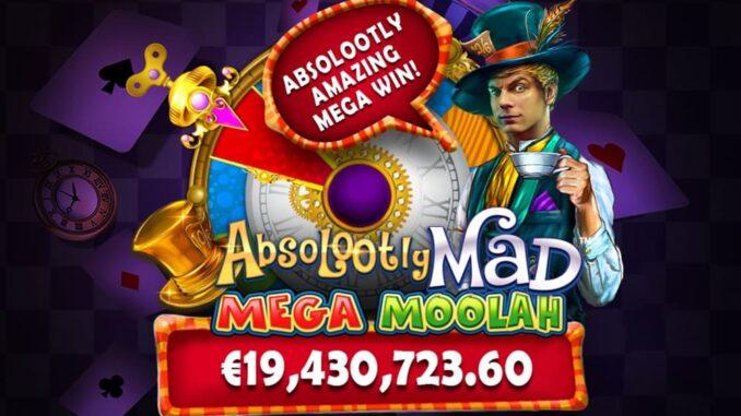 Mega Moolah jackpot cracked