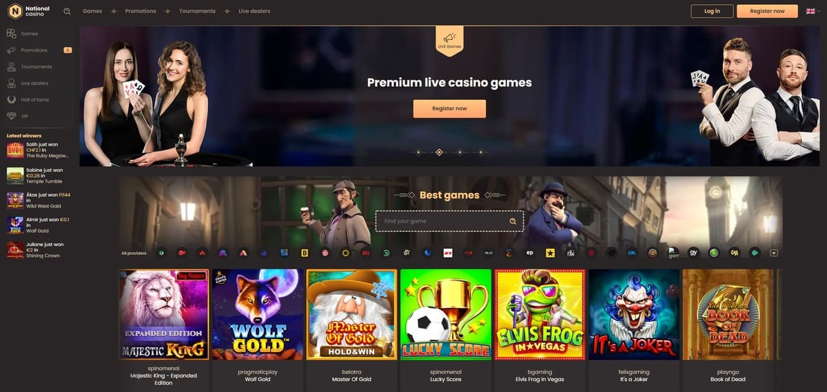 National Casino Website