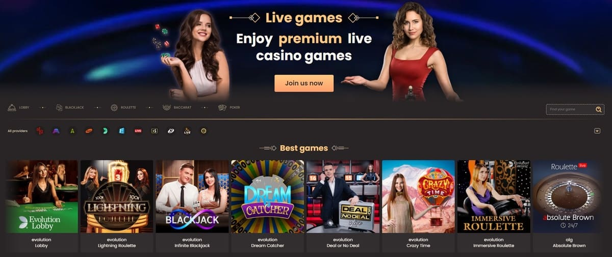 National Live Casino