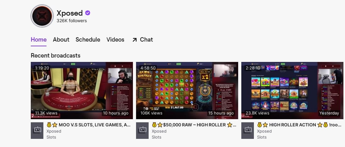 Xposed Twitch