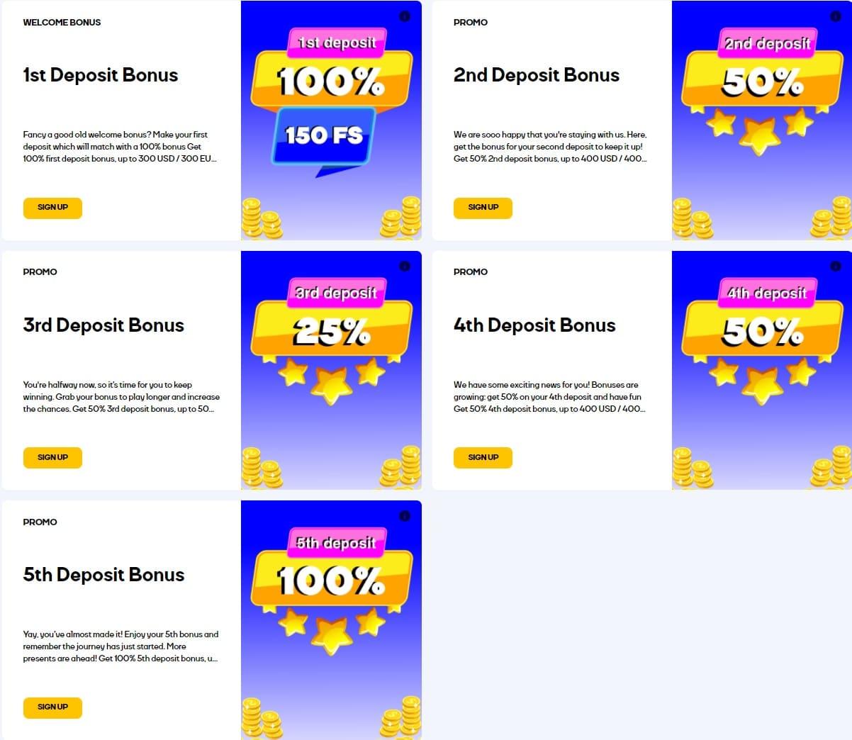 Cat Casino Bonuses