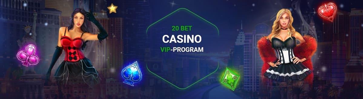 20Bet Casino VIP Program