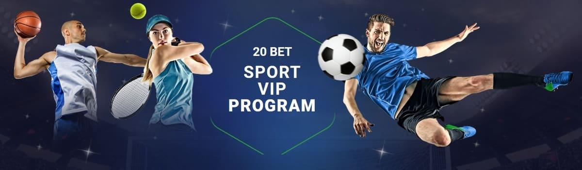 20Bet Sport Vip-Program