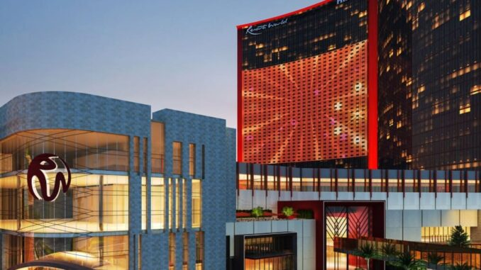 Glamorous Resorts World Las Vegas Casino