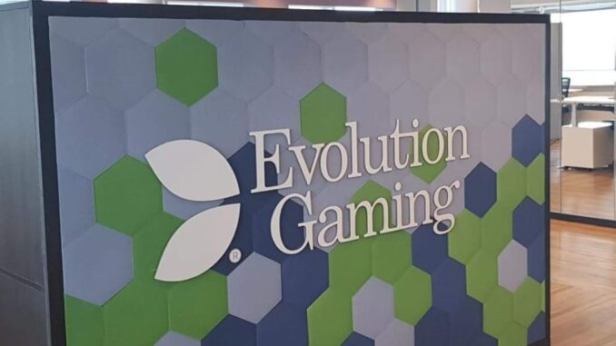 Evolution Gaming continues in the fast lane